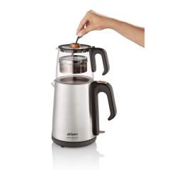Arzum AR3024 Çaycı Heptaze Çay Makinesi - Inox / Cam-2