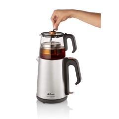 Arzum AR3024 Çaycı Heptaze Çay Makinesi - Inox / Cam-4