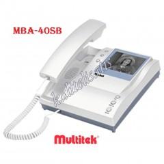 Multitek Mba-40Sb Siyah/Beyaz Görüntülü Daire Monitörü