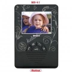 Multitek Mb-41 Renkli Görüntülü Daire Monitörü
