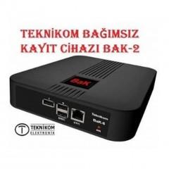Teknikom Bak2 İki Kanal Telefon Ses Kayıt Cihazı