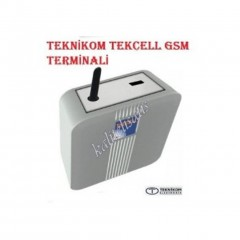 Teknikom Tekcell Fct Gsm (Turkcell-Avea-Vodafon) Terminali