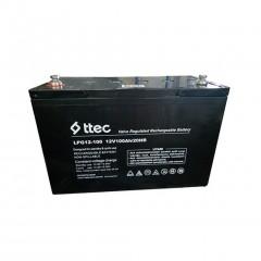 Ttec 12 Volt 100 Amper Bakımsız Jel Akü ( 12V 100Ah )