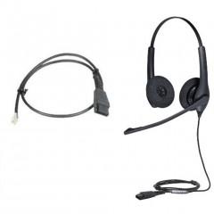 Jabra BIZ 1500 Duo QD NC Kablolu Çağrı merkezi kulaklığı