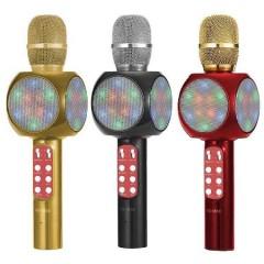 Led Işıklı Karaoke Mikrofon