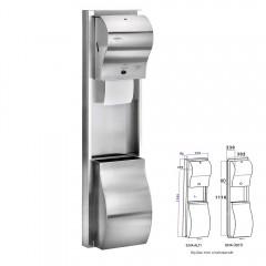 Rulopak                Kombine Ankastre Sensörlü Havlu Makinesi