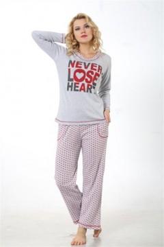 İnt.Bayan Pijama Takım-0