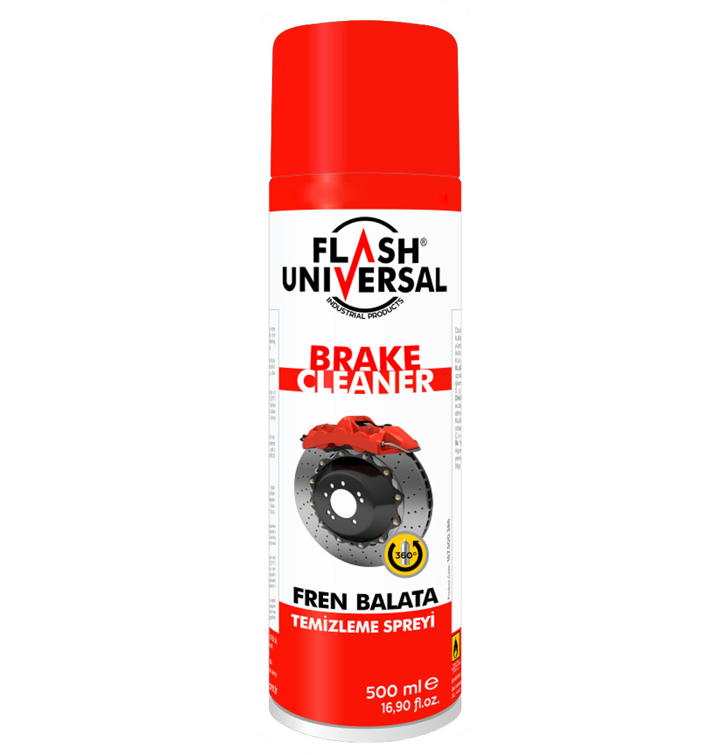 Flash Universal Fren-Balata Temizleme Spreyi 500ml