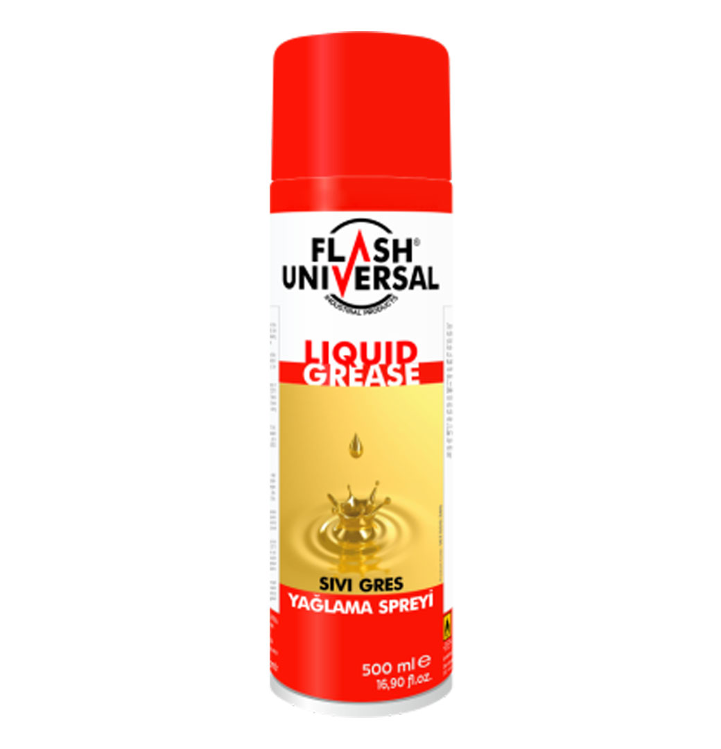 Flash Universal Sıvı Gres Sprey 500ml
