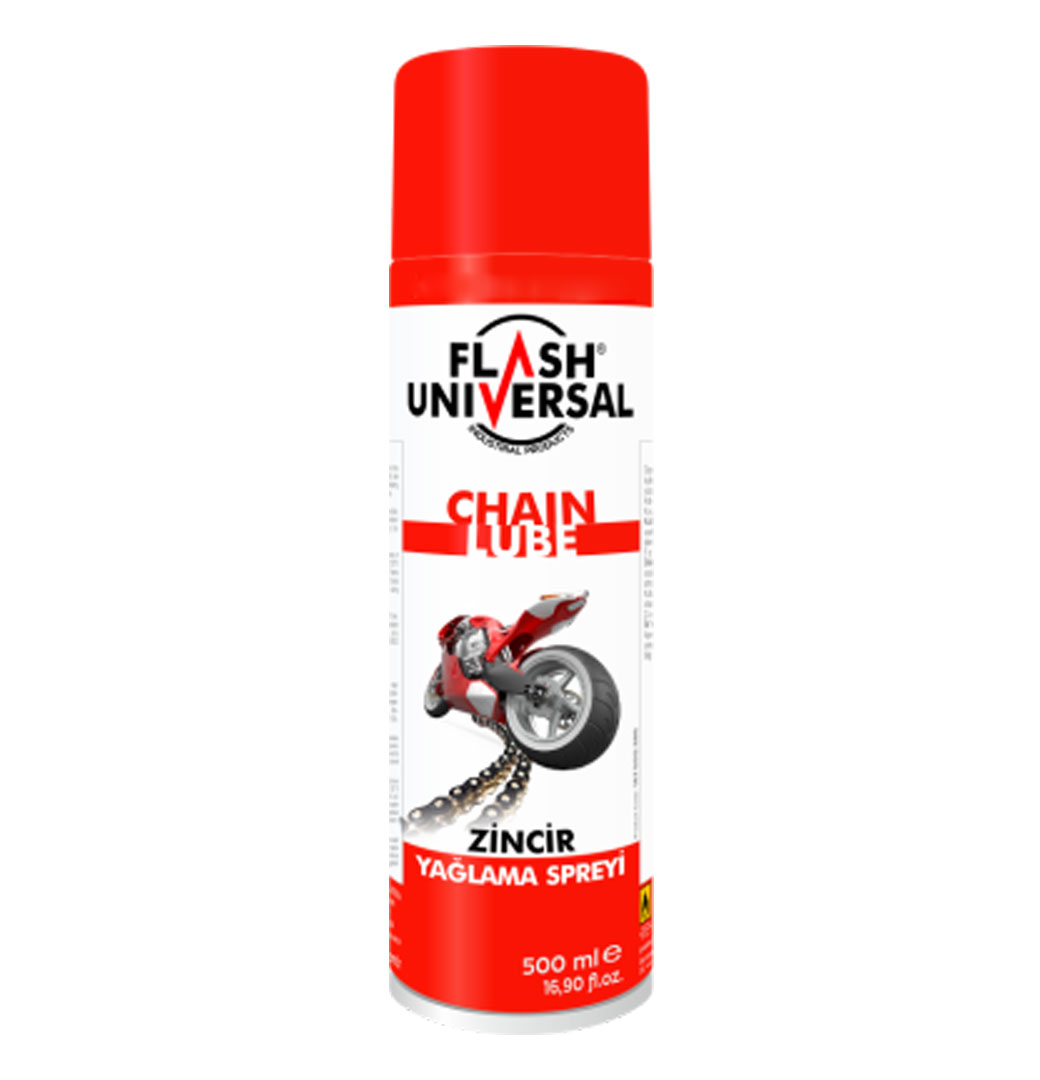 Flash Universal Zincir Yağlama Spreyi 500ml