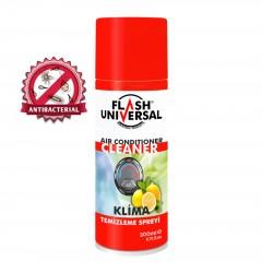 Flash Universal Antibakteriyel Klima Temizleme Spreyi 200ml