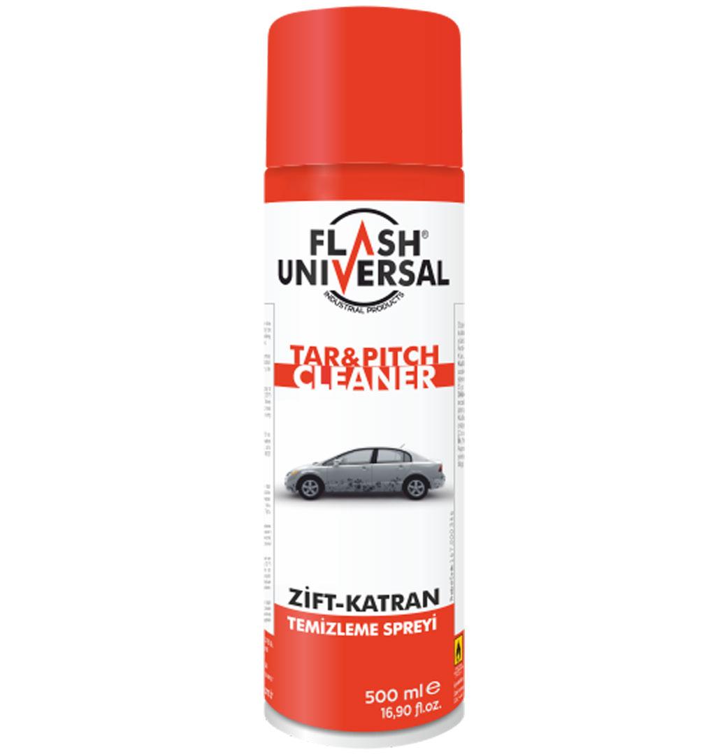 Flash Universal Zift-Katran Temizleme Spreyi 500ml