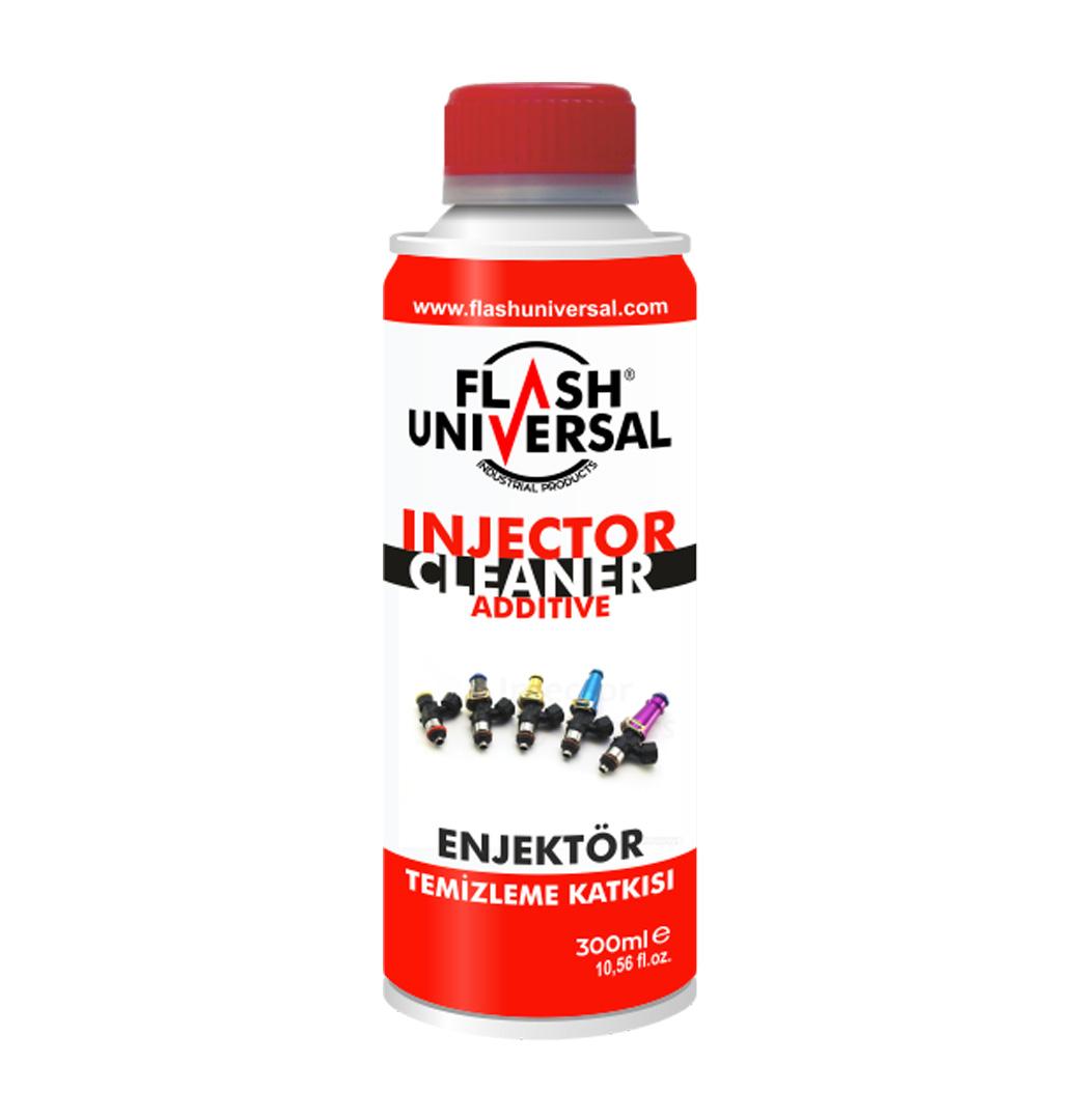 Flash Universal Dizel Ve Benzin Motor Enjektör Temizleme Katkısı - 300ML.