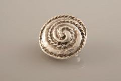 Gümüş Kaplama Mıknatıslı Broş 05-0906-00-12