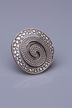 Gümüş Kaplama Mıknatıslı Broş 05-0921-00-12