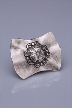 Gümüş Kaplama Mıknatıslı Broş 05-0922-00-12