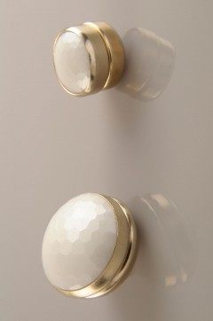 Beyaz Altın Kaplama Eşarp Mıknatısı 06-0824-39-20