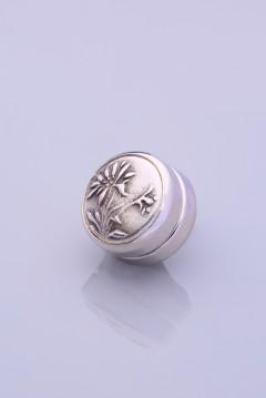 Gümüş Kaplama Eşarp Mıknatısı ZAMAK SERİSİ 06-0905-44-10-T