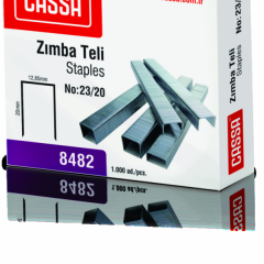 CASSA Zımba Teli, 180 Sayfa Zımbalama Kapasiteli, No:23/20 – 8482