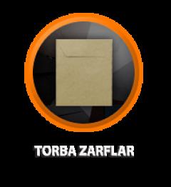 Zarfsan Torba Zarfları, İ.Kraft, 90 gr, 240×320, 1000 adet