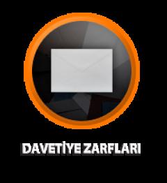 Zarfsan Davetiye Zarfı, Çaycuma, 90 gr, 120×180