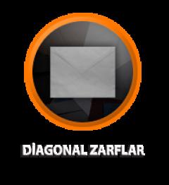 Zarfsan Diagonal Kraft Zarf, Pencereli, 90 gr, 130×180, 100 Adet