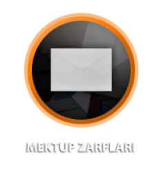 Zarfsan Mektup Zarfı, 90 gr, 114×162 , 100 Adet