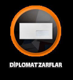 Zarfsan Mekanize Diplomat Zarfı, Silikonlu, Düz, 110 gr, 113×235, 100 Adet