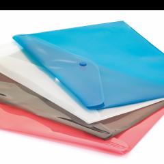 CASSA Çıtçıtlı Dosya, Şeffaf Mavi – 7215