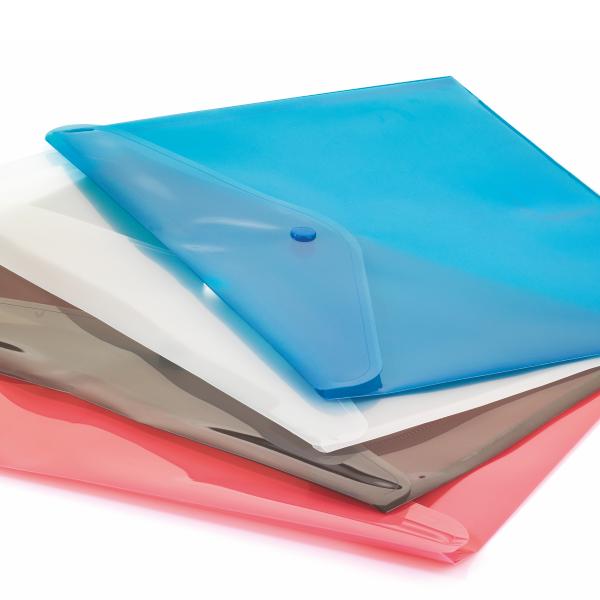 CASSA Çıtçıtlı Dosya, Şeffaf Sarı, 12'li Paket – 7215