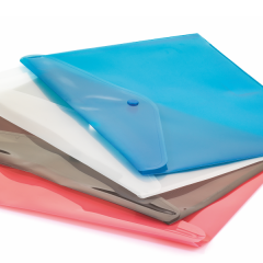 CASSA Çıtçıtlı Dosya, Şeffaf, 12'li Paket – 7215