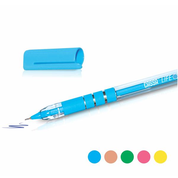 CASSA Tükenmez Kalem, Life, 0,7 mm, Stantlı 72 Adet – 9801