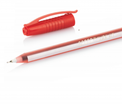 CASSA Tükenmez Kalem, Slide, 0,7 mm, Kırmızı – 8740