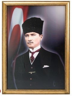 Akyazı Atatürk Posteri , Elit Çerçeve, 35×50 – 5