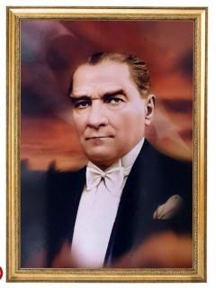 Akyazı Atatürk Posteri , Elit Çerçeve, 35×50 – 4-0