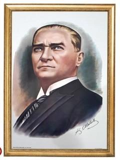 Akyazı Atatürk Posteri , Elit Çerçeve, 35×50 – 1