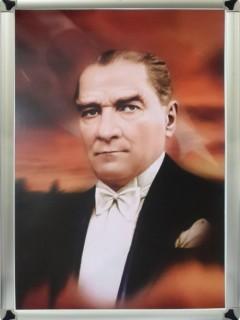 Akyazı Atatürk Posteri , Metal Çerçeve – 4