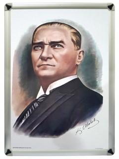 Akyazı Atatürk Posteri , Metal Çerçeve – 1