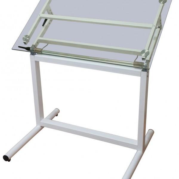 Akyazı Çizim Masası, Cam, Ayaklı – 70×100