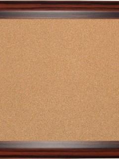 Akyazı Geniş Ahşap Çerçeve Mantar Pano,90×120