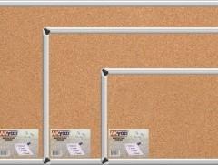 Akyazı Duvara Monte Mantar Pano,Alüminyum Çerçeve,60×300-0