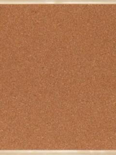 Akyazı Simge Mantar Pano, Ahşap Çerçeve, 30×45