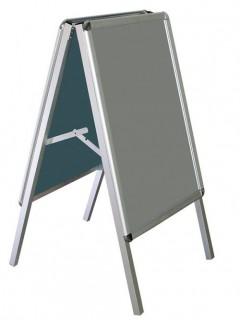 Akyazı Poster Standı, Açılır Kapanır, Üçgen Tip, Çift Taraflı – 50×70