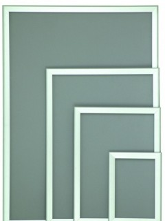 Akyazı Display Reklam Panosu, 25'lik, Standart Köşe, – 100×140
