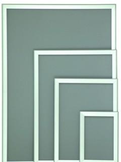 Akyazı Display Reklam Panosu, 25'lik, Standart Köşe, – 30×42