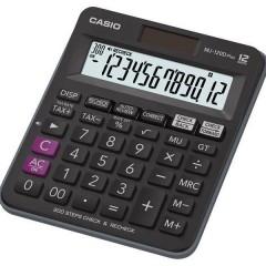 Casio MJ-120D Plus, 12 Hane, Vergi Fonksiyonlu-Tax, 300 İşlem Kontrollü Hesap Makinesi