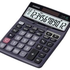 Casio DJ-120D , 12 Hane, 150 İşlem Kontrollü Hesap Makinesi