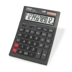 CASSA Hesap Makinesi,12 Hane, Siyah – 9300