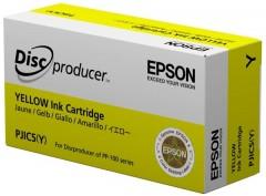 EPSON C13S020451 PJIC5 PP-100 SARI KARTUŞ ORJİNAL 31.5 ML