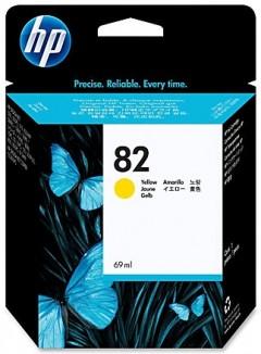 HP C4913A (82) 500/510/800/820 SARI KARTUŞ ORJİNAL 69 ML